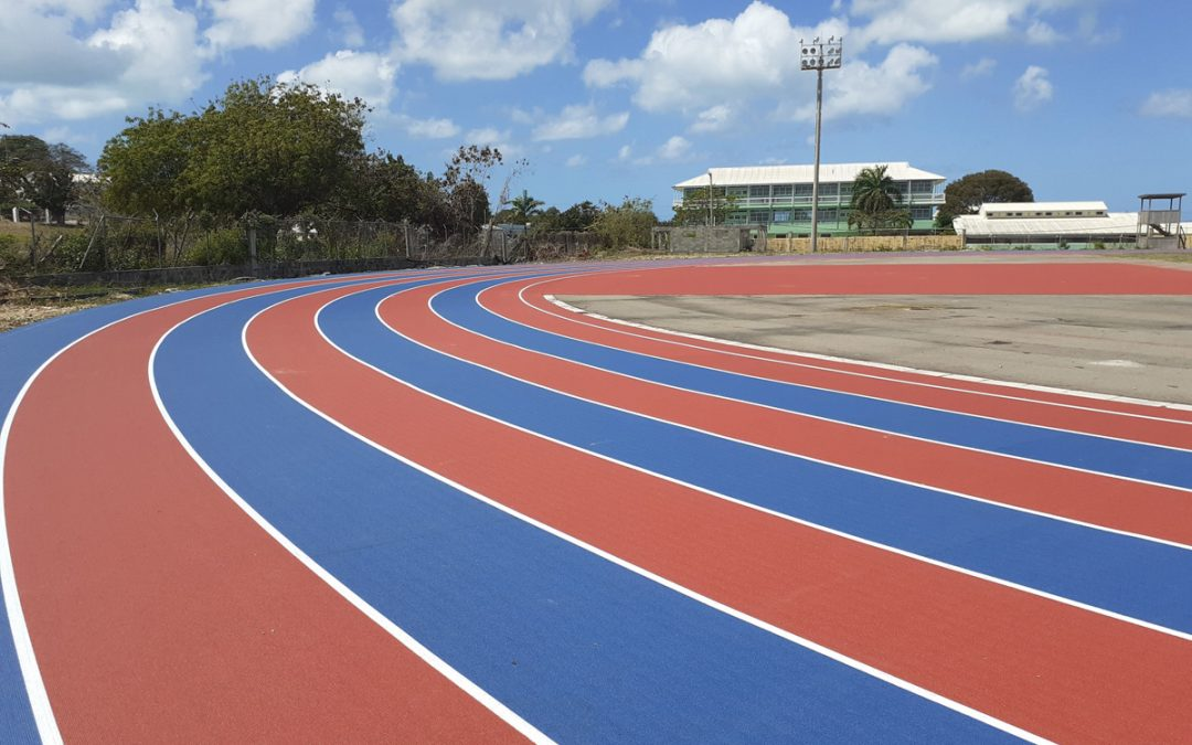 National sprinter welcomes progress at country's lone track