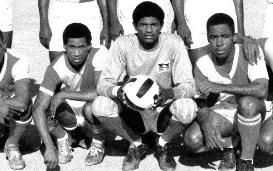 Sir Viv remembers fallen former athlete and national goalkeeper Wesley Challenger