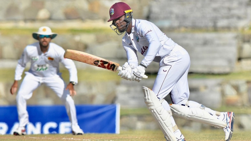 Nkrumah dream come true as first Test against Sri Lanka ends in a draw