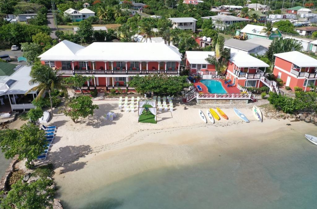 Antiguan hotel features prominently in new prime time series