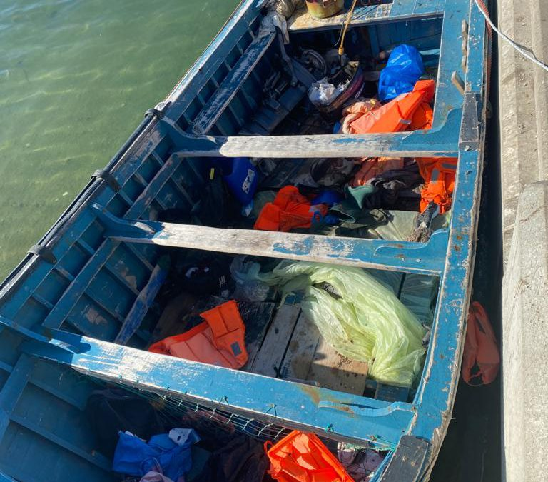 Mysterious boat found adrift off Antiguan coast