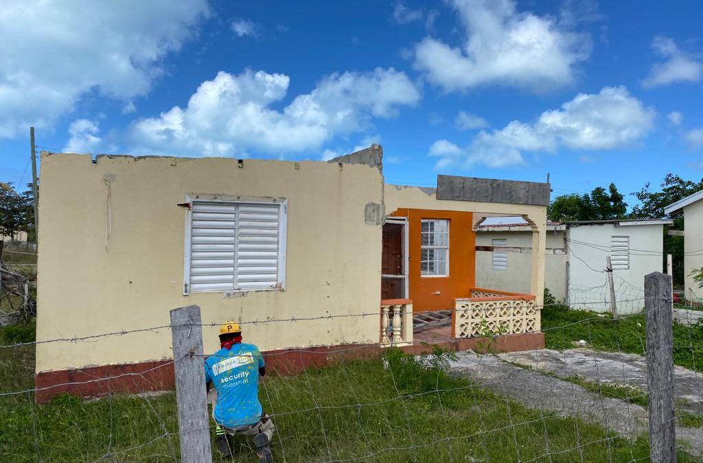 Scores more homes to be repaired and rebuilt in Barbuda