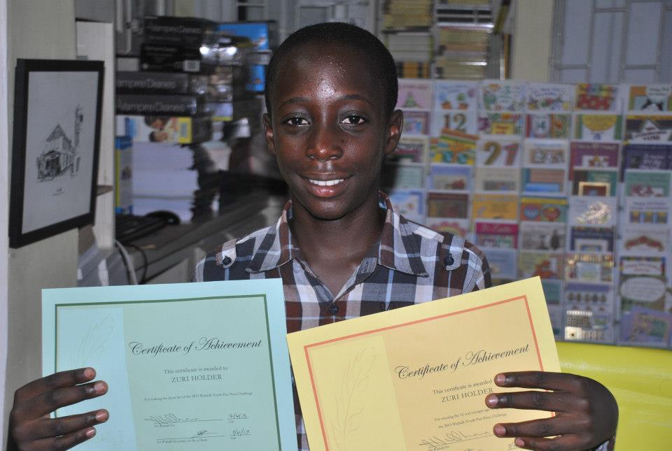 Wadadli Pen's new prize pays tribute to accident victim, Zuri Holder