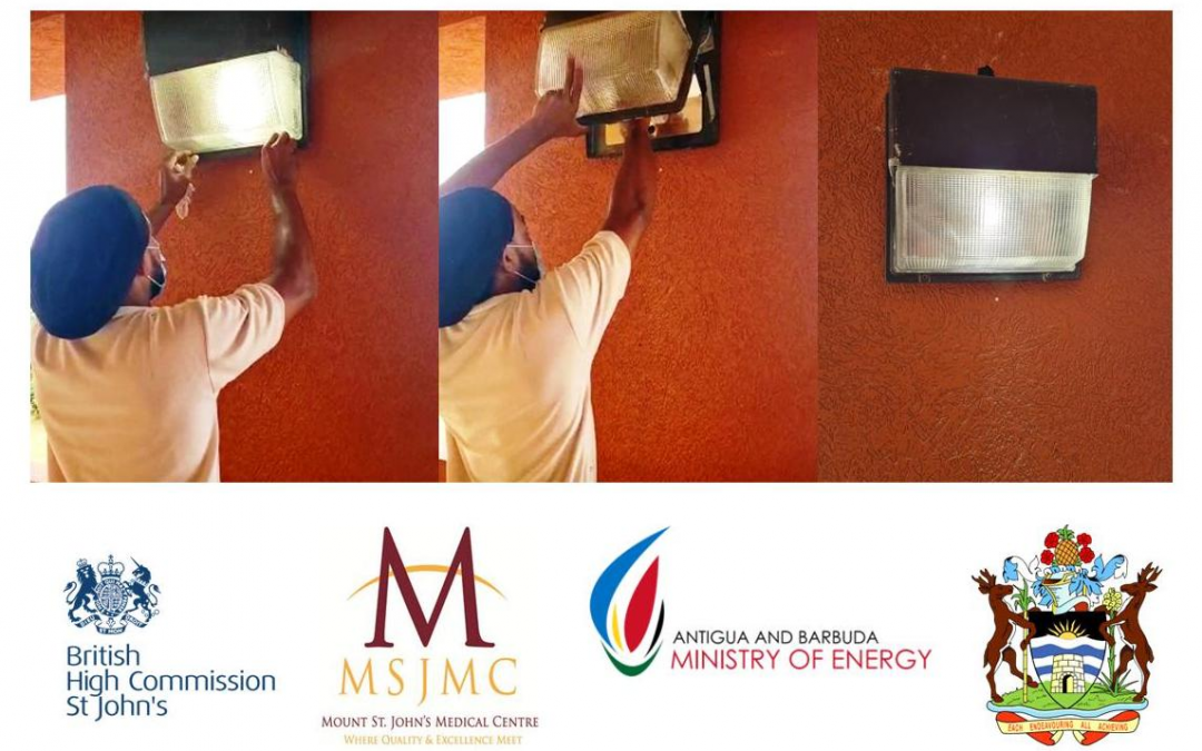 British High Commission funds energy-efficient lighting upgrade to hospital