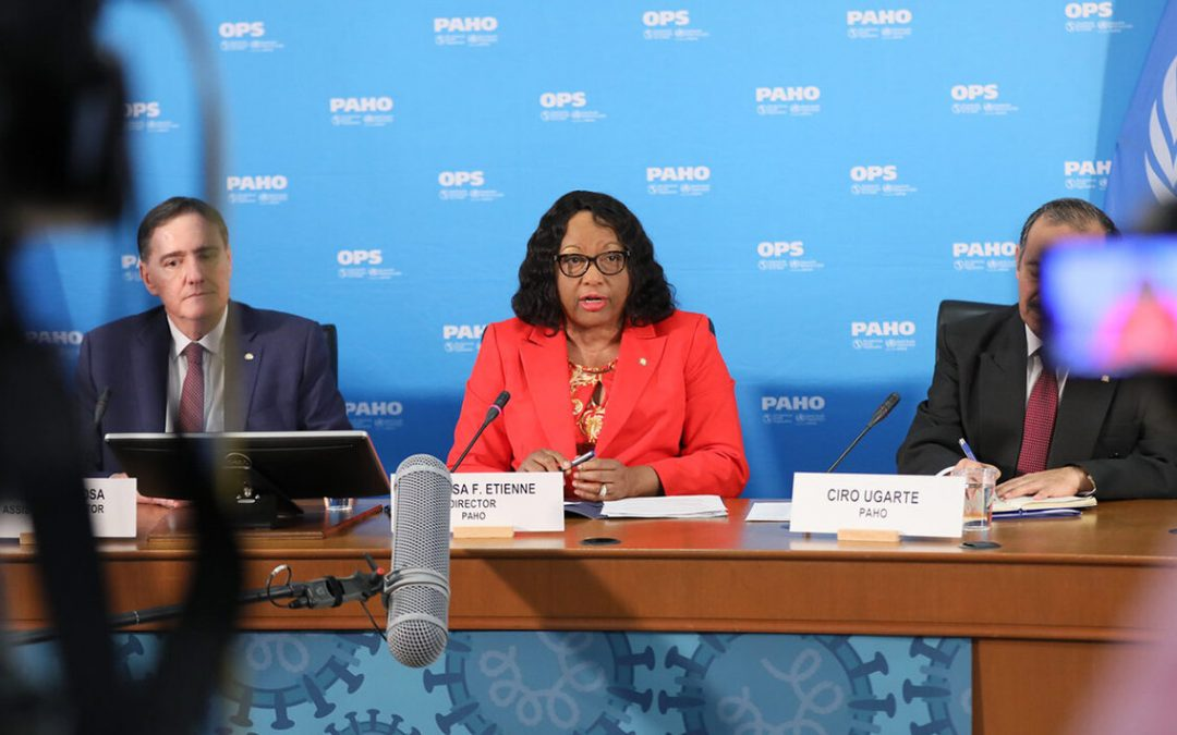 "PAHO DIRECTOR SAYS ""THE TIME FOR RELAXING IS NO WHERE CLOSE"""