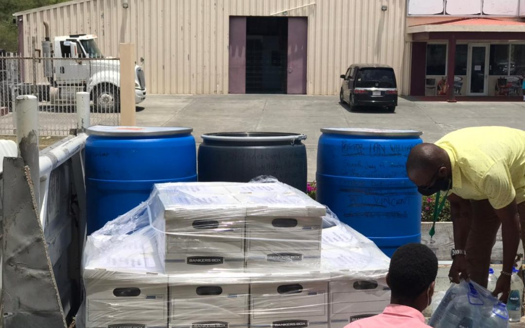 Second Shipment of Relief Items Sent to St. Vincent
