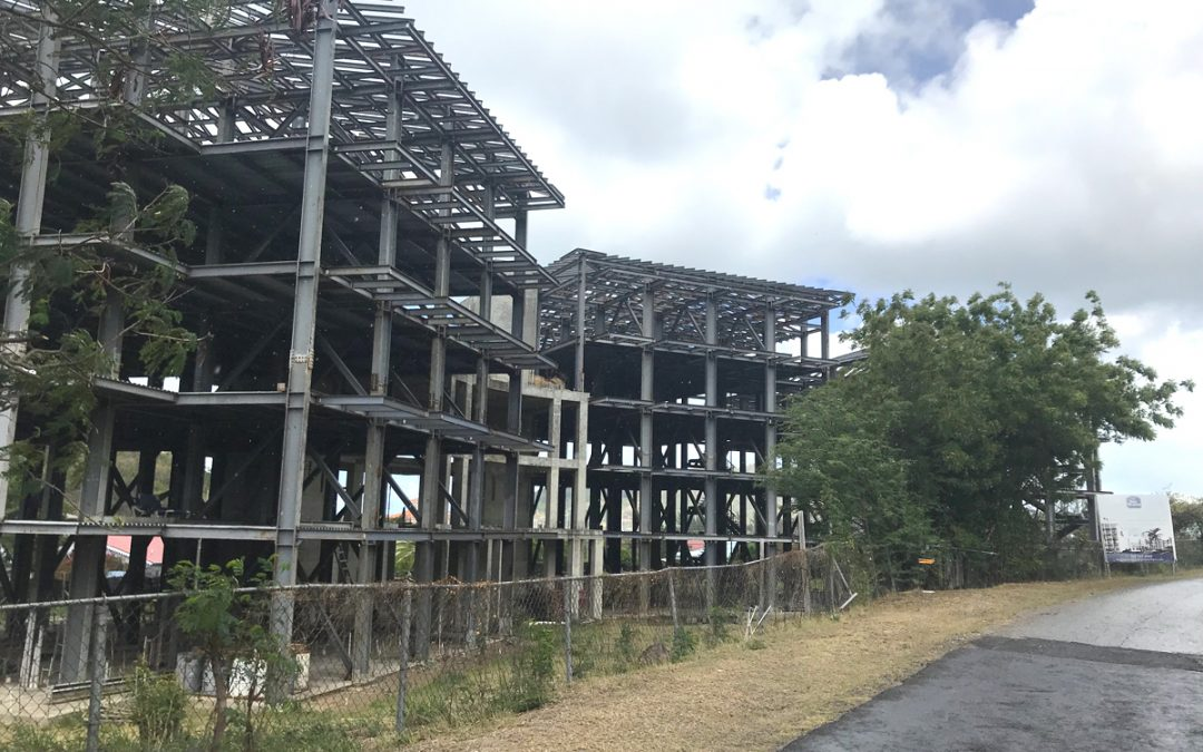 Plans ahead for rusting eyesore long angering local residents