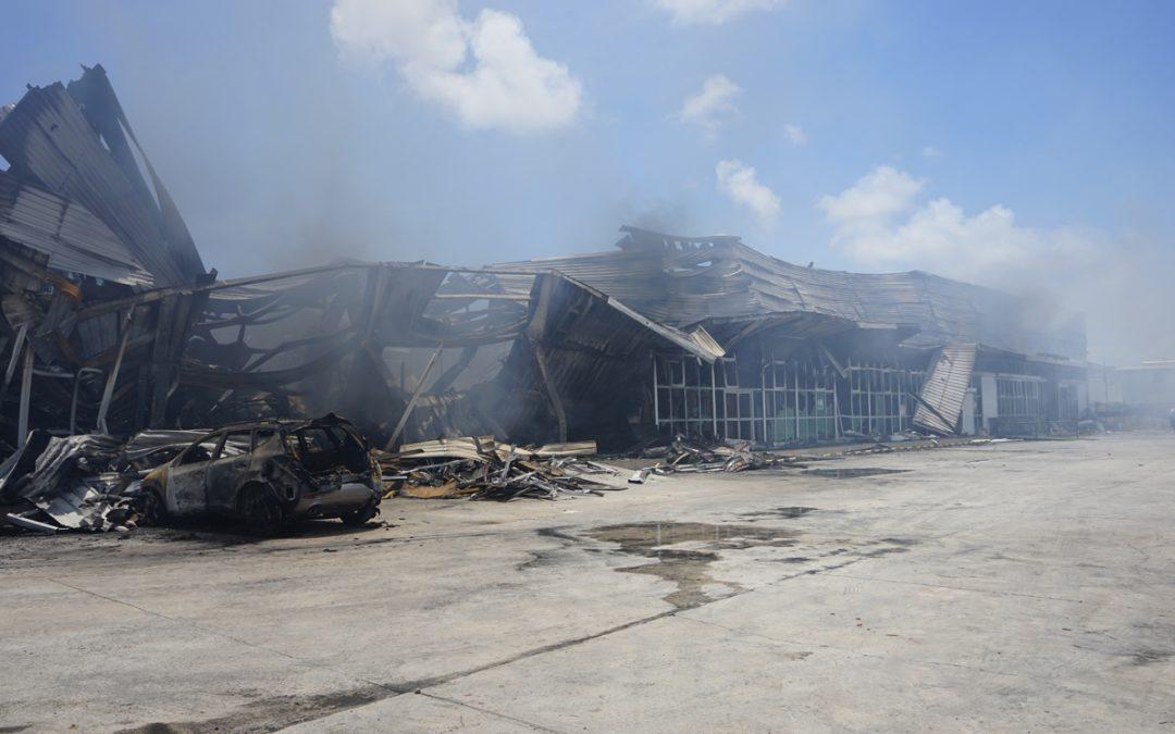 Alleged supermarket arsonist due in court today